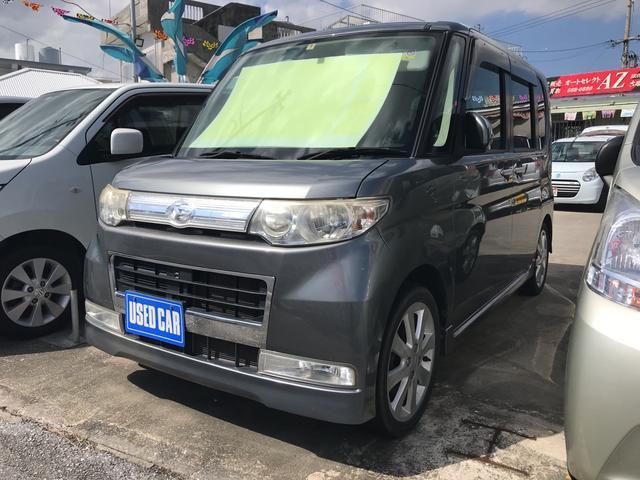 沖縄の中古車 ダイハツ タント 車両価格 41万円 リ済込 平成21年 12.0万km グレー