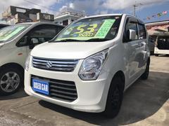 沖縄の中古車 スズキ ワゴンR 車両価格 53万円 リ済込 平成25年 9.5万K ホワイト