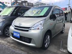 沖縄の中古車 ダイハツ ムーヴ 車両価格 41万円 リ済込 平成23年 8.1万K ライトゴールド