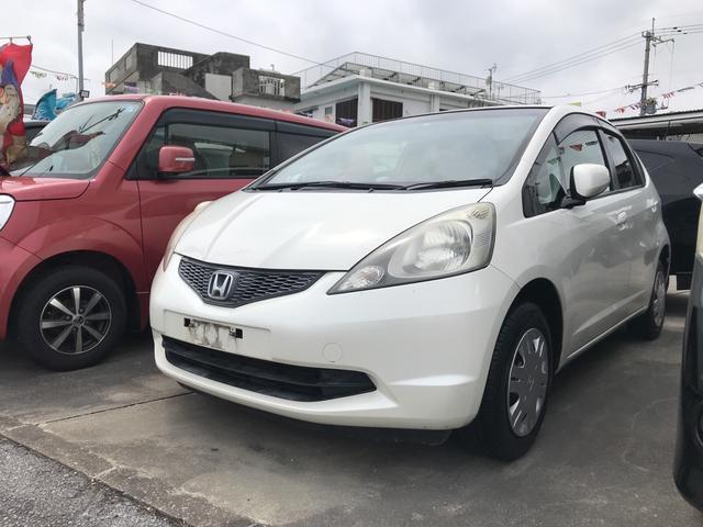 沖縄の中古車 ホンダ フィット 車両価格 27万円 リ済込 2009(平成21)年 10.9万km パール