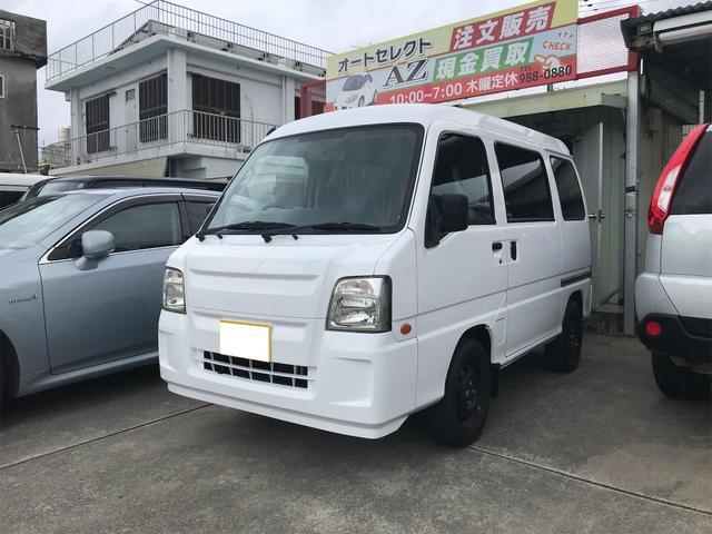 沖縄県中頭郡西原町の中古車ならサンバーバン トランスポーター