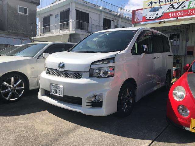沖縄県の中古車ならヴォクシー ZS スマートキー プッシュスタート 両側パワースライドドア 後席モニター