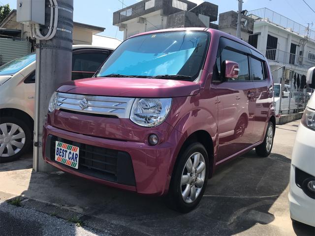 沖縄の中古車 スズキ MRワゴン 車両価格 43万円 リ済込 2012(平成24)年 9.1万km ピンク