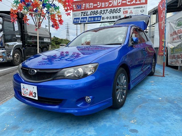 沖縄の中古車 スバル インプレッサ 車両価格 39万円 リ済込 2011(平成23)年 6.4万km ブルーM