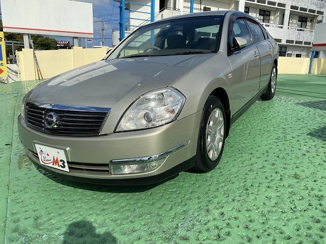 沖縄の中古車 日産 ティアナ 車両価格 19万円 リ済込 2007(平成19)年 14.8万km ゴールドM