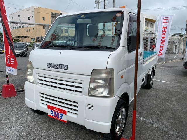 沖縄の中古車 スズキ キャリイトラック 車両価格 37万円 リ済込 2009(平成21)年 9.4万km ホワイト