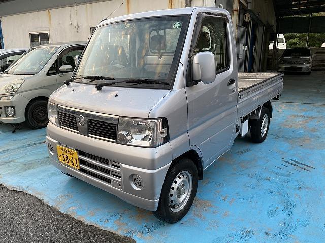 沖縄の中古車 日産 クリッパートラック 車両価格 37万円 リ済込 2011(平成23)年 8.9万km シルバーM