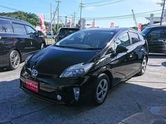 沖縄の中古車 トヨタ プリウス 車両価格 143万円 リ済込 平成26年 4.7万K ブラック