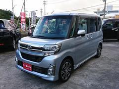 沖縄の中古車 ダイハツ タント 車両価格 126万円 リ済込 平成27年 0.9万K ブライトシルバーメタリック