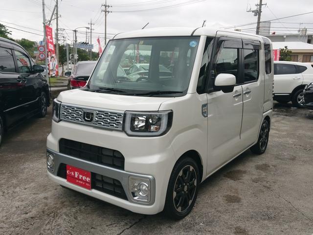 沖縄の中古車 ダイハツ ウェイク 車両価格 113万円 リ済込 平成27年 4.5万km パールホワイトIII