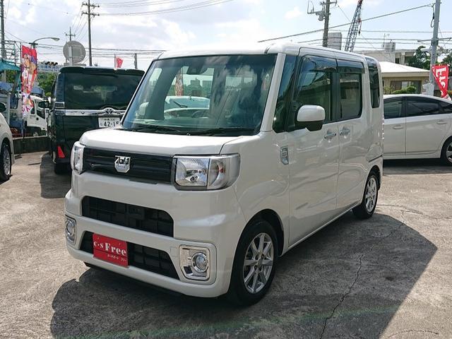 沖縄の中古車 ダイハツ ウェイク 車両価格 123万円 リ未 2017(平成29)年 2.6万km パールホワイトIII