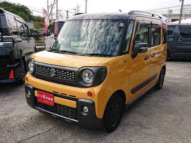 沖縄県の中古車ならスペーシアギア ハイブリッドXZ 2年保証