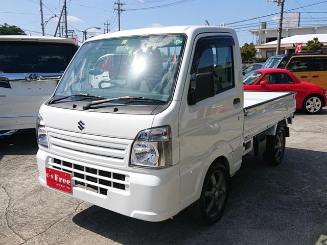沖縄の中古車 スズキ キャリイトラック 車両価格 95万円 リ済込 2018(平成30)年 0.2万km ホワイト