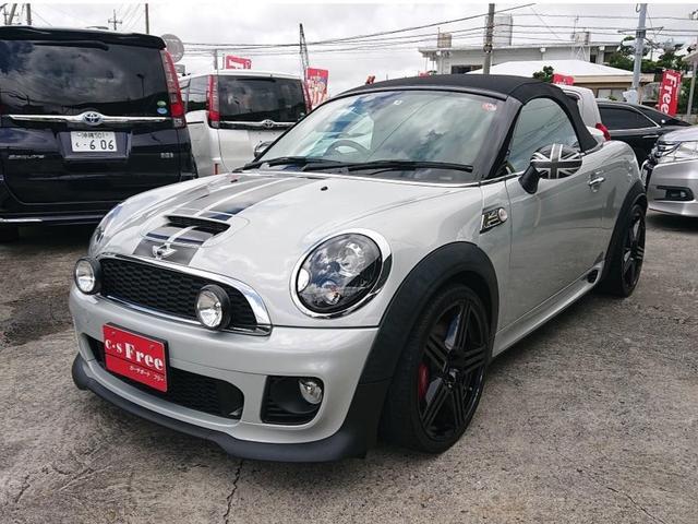 沖縄の中古車 MINI MINI 車両価格 229万円 リ済込 2013(平成25)年 6.7万km ホワイトシルバー