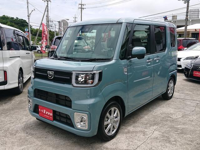 沖縄の中古車 ダイハツ ウェイク 車両価格 163万円 リ済込 2020(令和2)年 29km レイクブルーメタリック