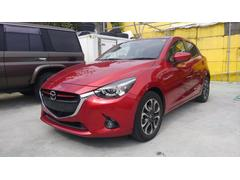 沖縄の中古車 マツダ デミオ 車両価格 149万円 リ済込 平成27年 4.4万K レッドM