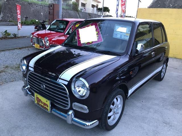 沖縄県の中古車ならミラジーノ ジーノ ミニルックストライプ
