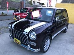 沖縄の中古車 ダイハツ ミラジーノ 車両価格 39万円 リ済込 平成14年 7.3万K ディープブラウンマイカ