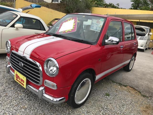 沖縄の中古車 ダイハツ ミラジーノ 車両価格 46万円 リ済込 平成15年 6.7万km レッド