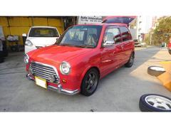 沖縄の中古車 ダイハツ ミラジーノ 車両価格 89万円 リ済込 平成13年 8.7万K レッド