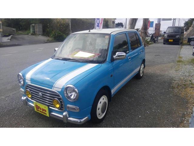沖縄の中古車 ダイハツ ミラジーノ 車両価格 45万円 リ済込 平成14年 5.6万km ライトブルー