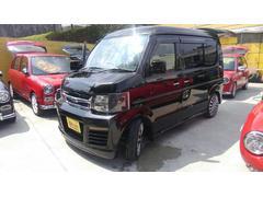 沖縄の中古車 スズキ エブリイワゴン 車両価格 98万円 リ済込 平成21年 9.4万K ブラックM