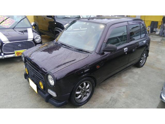 沖縄の中古車 ダイハツ ミラジーノ 車両価格 59万円 リ済込 平成14年 9.4万km DブラウンM