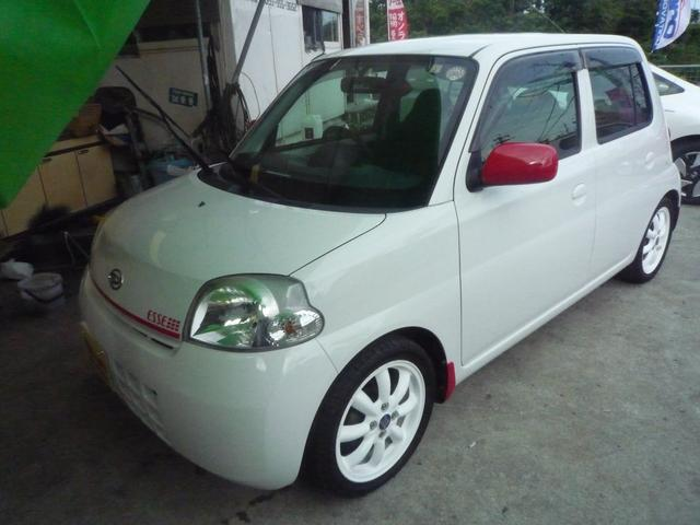 沖縄の中古車 ダイハツ エッセ 車両価格 39万円 リ済込 平成20年 8.2万km ホワイト