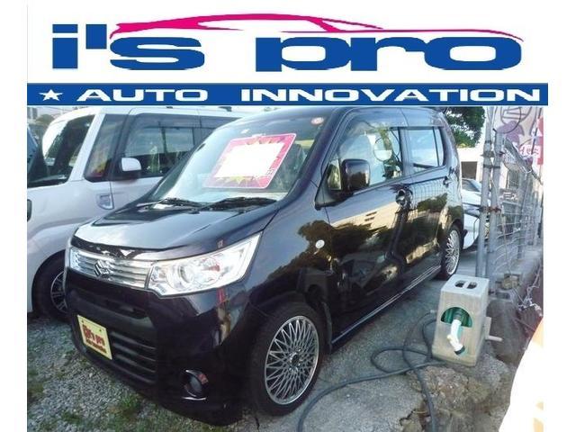 沖縄の中古車 スズキ ワゴンRスティングレー 車両価格 75万円 リ済込 2013(平成25)年 8.4万km ワインM