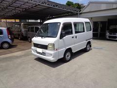 沖縄の中古車 スバル サンバーバン 車両価格 27万円 リ済込 平成20年 13.7万K ホワイト