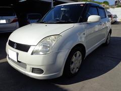 沖縄の中古車 スズキ スイフト 車両価格 9万円 リ済込 平成17年 14.3万K パールホワイト