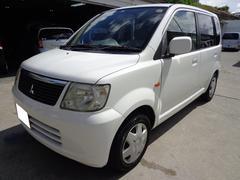 沖縄の中古車 三菱 eKワゴン 車両価格 12万円 リ済込 平成18年 15.0万K ホワイト