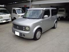 沖縄の中古車 日産 キューブ 車両価格 12万円 リ済込 平成18年 17.8万K シルバー