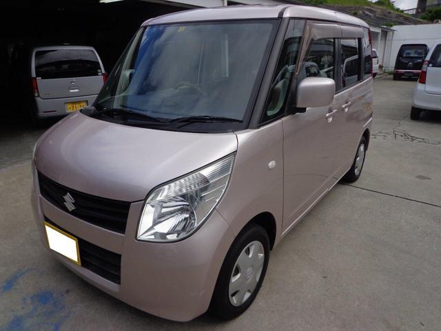 沖縄の中古車 スズキ パレット 車両価格 36万円 リ済込 平成21年 10.9万km ピンク