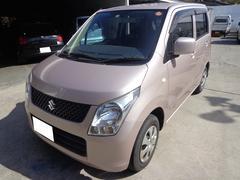 沖縄の中古車 スズキ ワゴンR 車両価格 27万円 リ済込 平成21年 7.9万K ピンク
