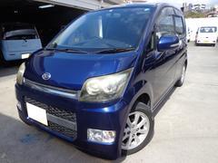 沖縄の中古車 ダイハツ ムーヴ 車両価格 34万円 リ済込 平成20年 10.1万K ダークブルー