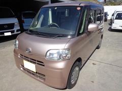 沖縄の中古車 ダイハツ タント 車両価格 32万円 リ済込 平成20年 12.1万K ピンク