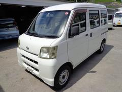 沖縄の中古車 ダイハツ ハイゼットカーゴ 車両価格 26万円 リ済込 平成19年 17.4万K ホワイト