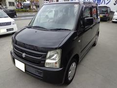 沖縄の中古車 スズキ ワゴンR 車両価格 17万円 リ済込 平成20年 11.7万K ブラック