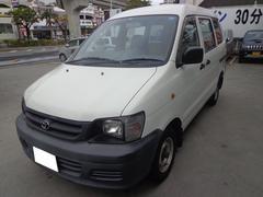 沖縄の中古車 トヨタ ライトエースバン 車両価格 9万円 リ済込 平成13年 25.6万K ホワイト