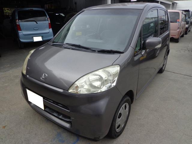 沖縄の中古車 ホンダ ライフ 車両価格 17万円 リ済込 平成20年 15.5万km グレー