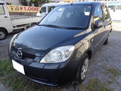 沖縄の中古車 マツダ デミオ 車両価格 16万円 リ済込 平成18年 11.7万K グレー