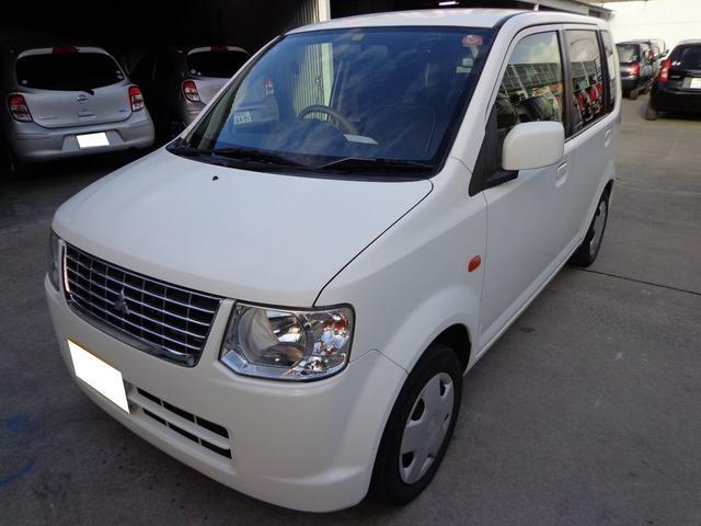 沖縄の中古車 三菱 eKワゴン 車両価格 23万円 リ済込 平成24年 12.4万km ホワイト