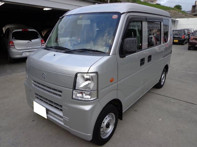 沖縄の中古車 スズキ エブリイ 車両価格 37万円 リ済込 平成22年 14.8万km シルバー
