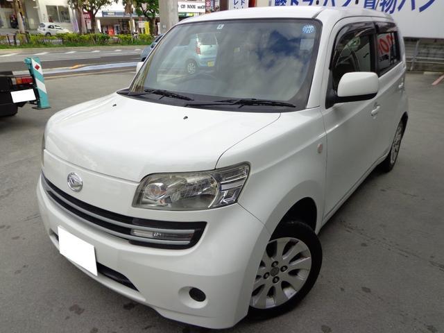 沖縄の中古車 ダイハツ クー 車両価格 12万円 リ済込 平成20年 19.3万km ホワイト