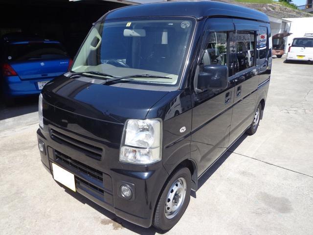 沖縄の中古車 マツダ スクラム 車両価格 32万円 リ済込 2009(平成21)年 12.4万km ブラック