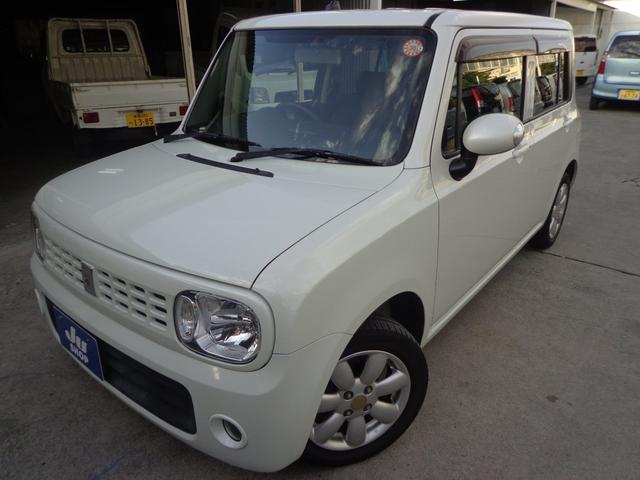 沖縄の中古車 スズキ アルトラパン 車両価格 47万円 リ済込 2010(平成22)年 6.0万km パールホワイト