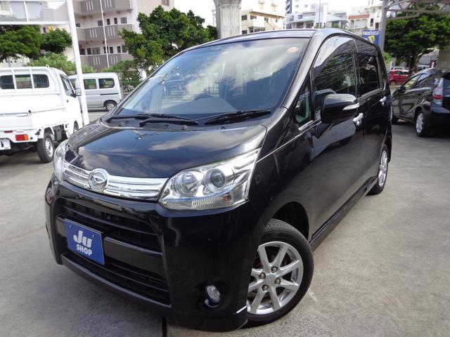 沖縄の中古車 ダイハツ ムーヴ 車両価格 49万円 リ済込 2010(平成22)年 8.9万km ブラック