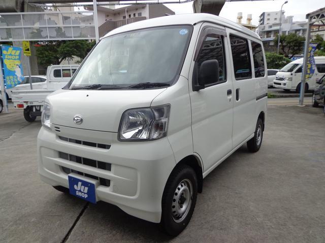 沖縄の中古車 ダイハツ ハイゼットカーゴ 車両価格 41万円 リ済込 2013(平成25)年 10.0万km ホワイト