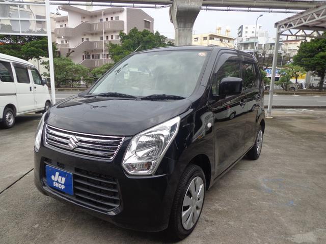 沖縄の中古車 スズキ ワゴンR 車両価格 37万円 リ済込 2012(平成24)年 10.9万km ブラック